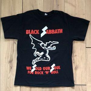 Black Sabbath metal tee